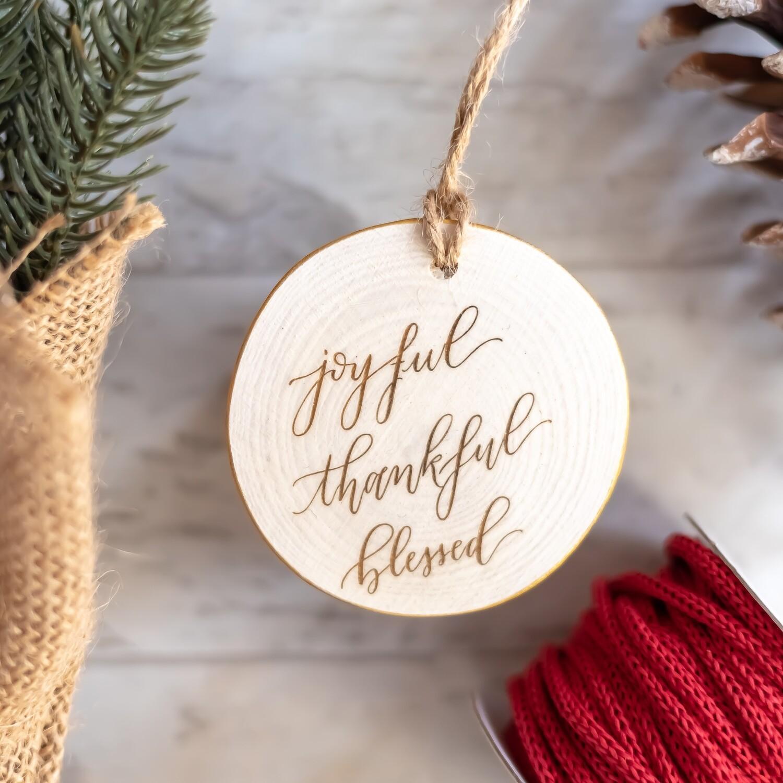 Joyful, Thankful, Blessed