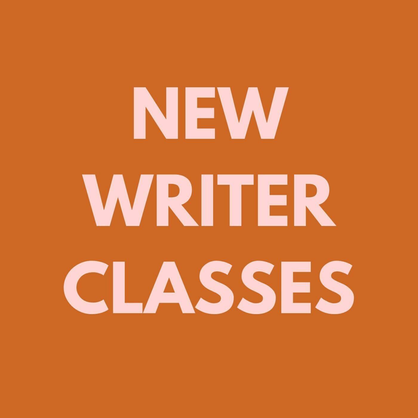 Novice Writers' Workshop - June 3, 2020