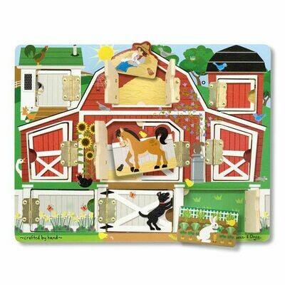 Melissa & Doug Magnetic Farm Hida & Seek Board