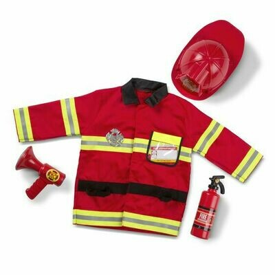 Fire Cheif Role Play Costume Set