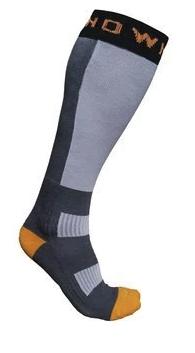 Thermal Nuclear Ski Socks - Grey