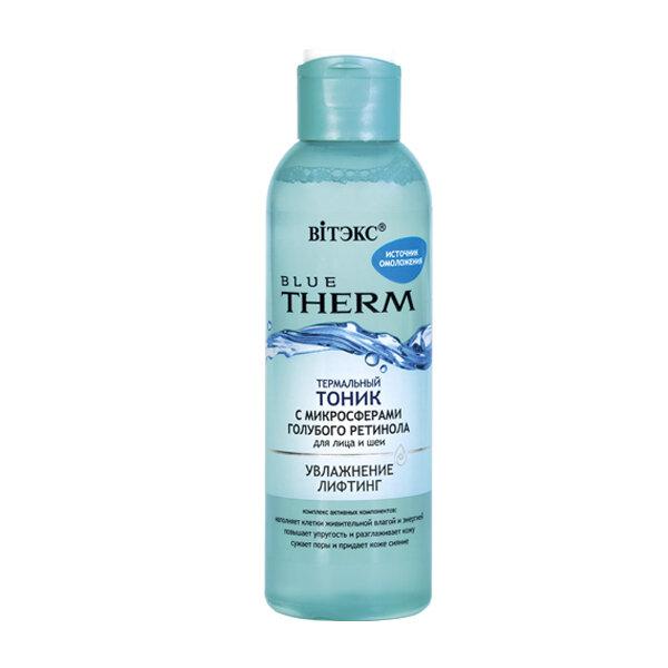 Витэкс | BLUE THERM | ТОНИК термальный с микросферами голубого ретинола для лица и шеи, 150 мл