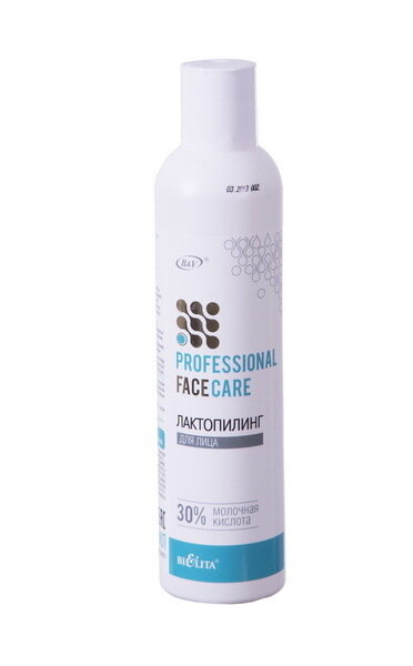 Белита | Face care | ЛАКТОПИЛИНГ для лица, 30% молочная кислота, 250 мл