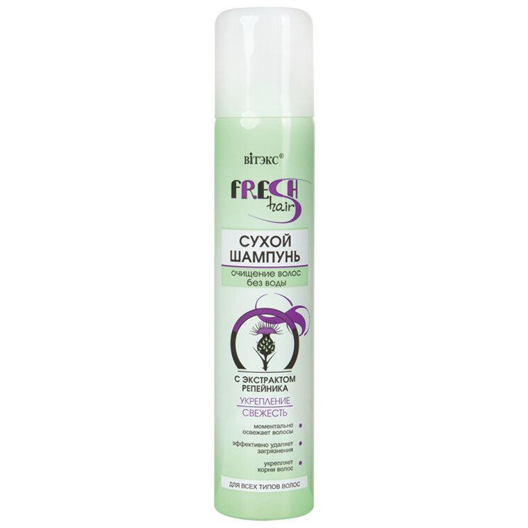 Витэкс | Fresh Hair | Сухой шампунь с экстрактом репейника, 200 мл