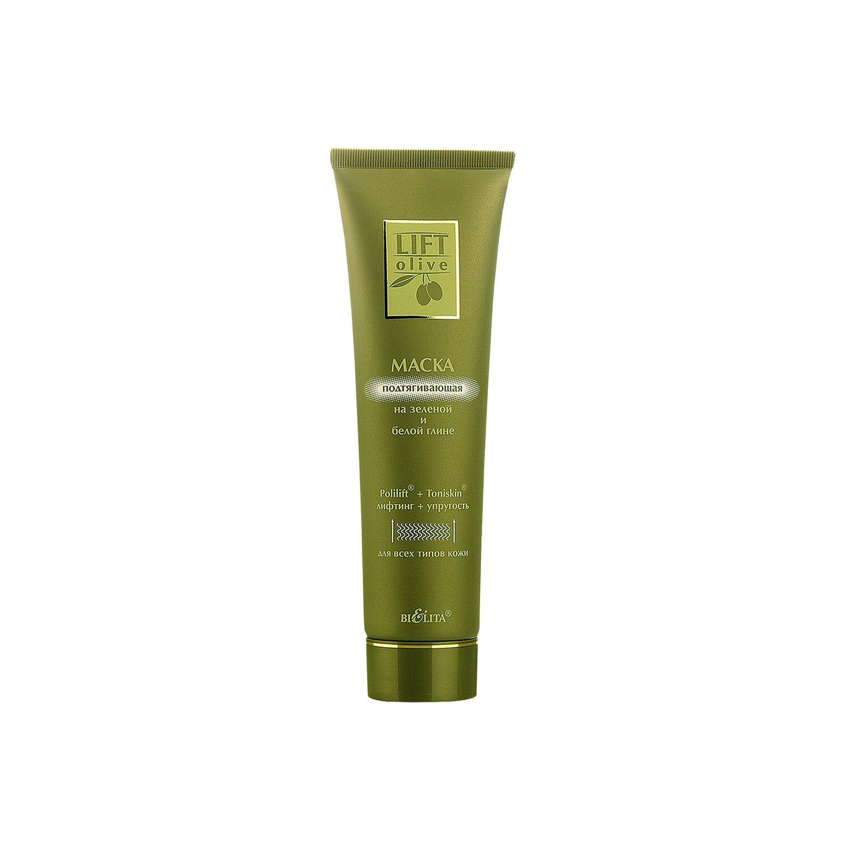 Белита | Lift-Olive | Маска подтягивающая На зеленой и белой глине, 100 мл