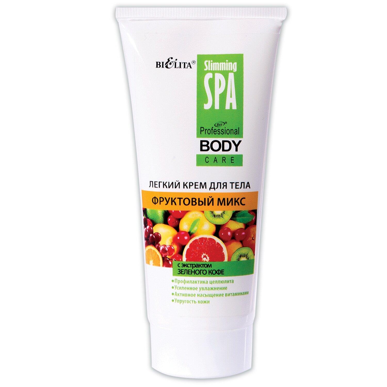 Белита   Slimming SPA   Легкий крем для тела Фруктовый микс с экстрактом зеленого кофе (Белита   Slimming SPA), 200 мл