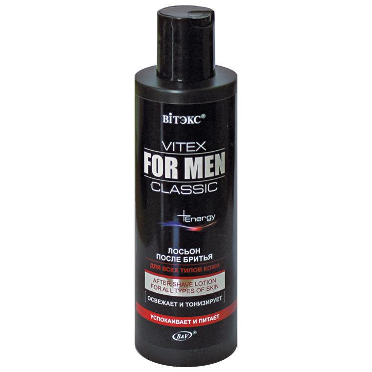 Витэкс   VITEX FOR MEN CLASSIC    Лосьон после бритья для всех типов кожи, 200 мл