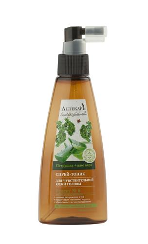 Витэкс | Аптекарь для волос |  СПРЕЙ-ТОНИК для чувствительной кожи головы, 150 мл