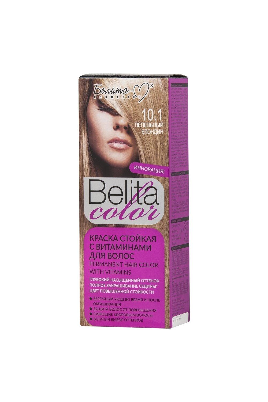 КРАСКА стойка с витаминами для волос Belita Сolor | тон 10.1 Пепельный блондин | Belita-M