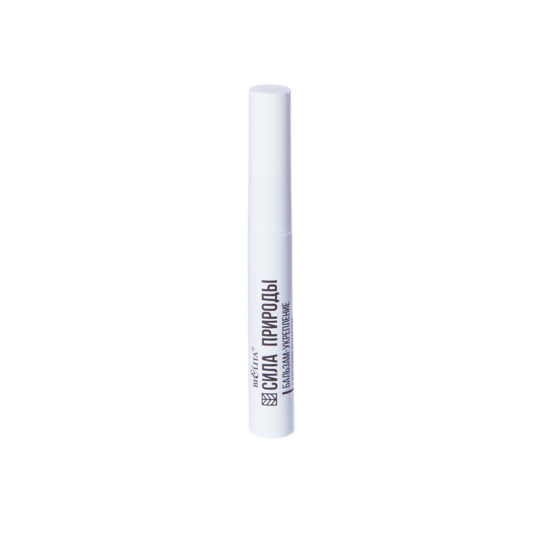 Белита | Сила природы | БАЛЬЗАМ-УКРЕПЛЕНИЕ с касторовым маслом для ресниц и бровей, 6 мл