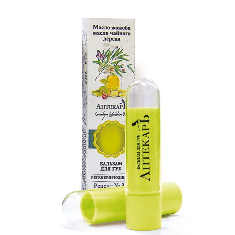 Витэкс | Аптекарь Бальзамы для губ |  Бальзам для губ регенерирующий, 4 г