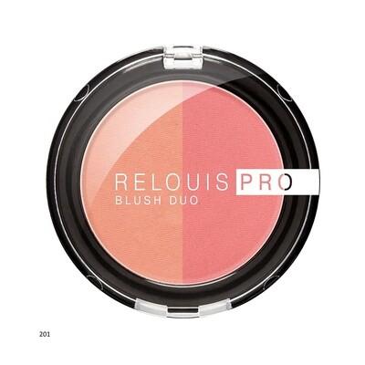 RELOUIS PRO BLUSH DUO 5 colors | РУМЯНА КОМПАКТНЫЕ