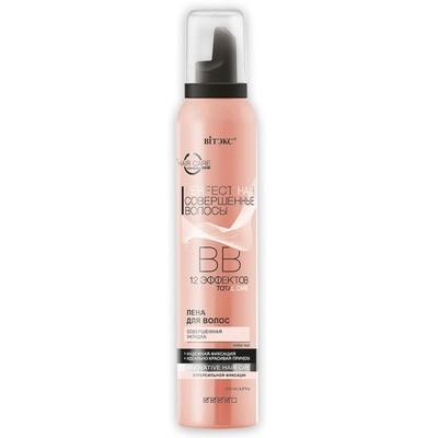 Витэкс | PERFECT HAIR | BB Пена для волос Совершенная укладка суперсильной фиксации 12 эффектов, 200 мл