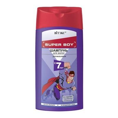 Витэкс   SUPER BOY    ШАМПУНЬ для волос для мальчиков 7 лет, 275 мл