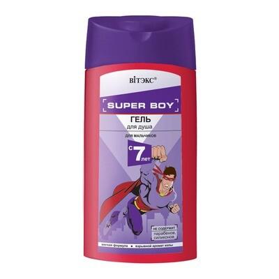 Витэкс   SUPER BOY    ГЕЛЬ для душа для мальчиков 7 лет, 275 мл
