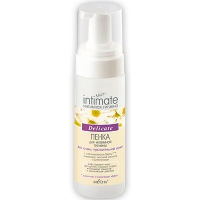 Белита | Intimate | Пенка для интимной гигиены для очень чувствительной кожи Delicate, 175 мл
