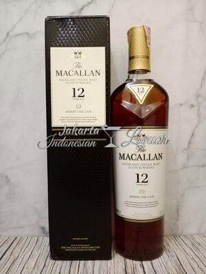 Macallan 12YO Sherry Oak