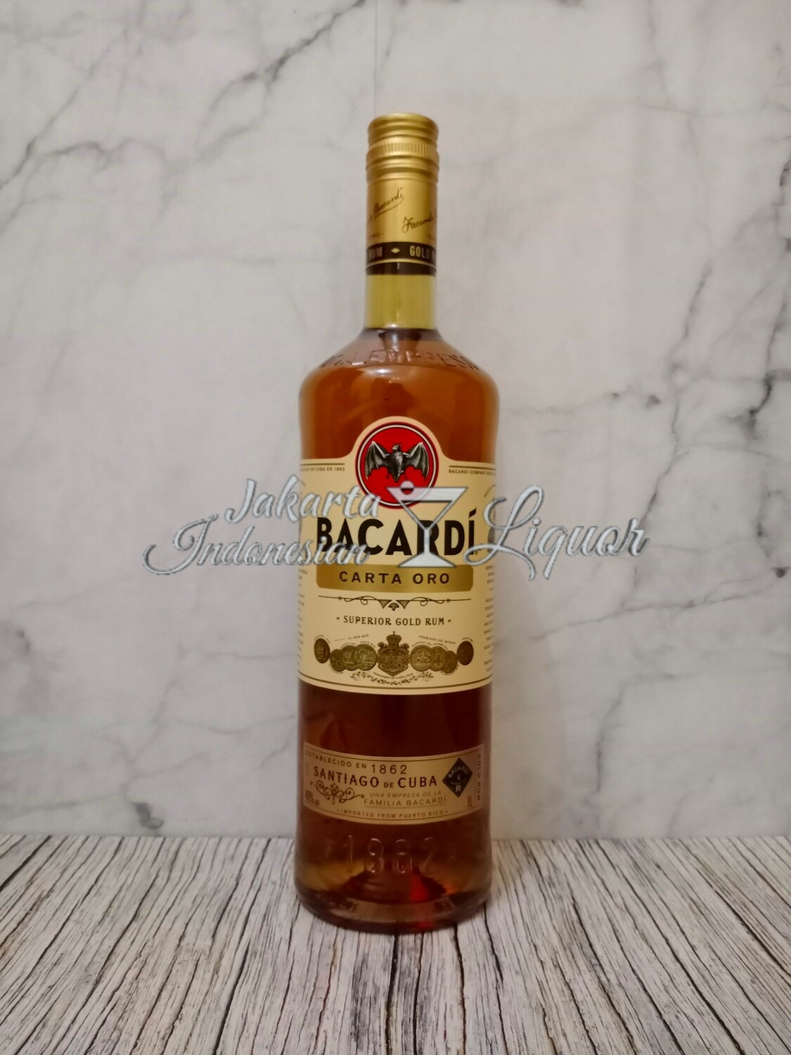 Bacardi Carta Oro 750ML