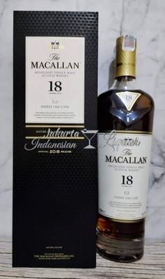 Macallan 18YO Sherry Oak 750ML