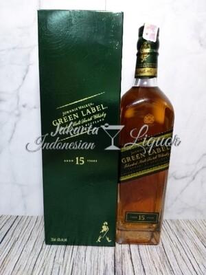 JW Green Label 15YO 750ML