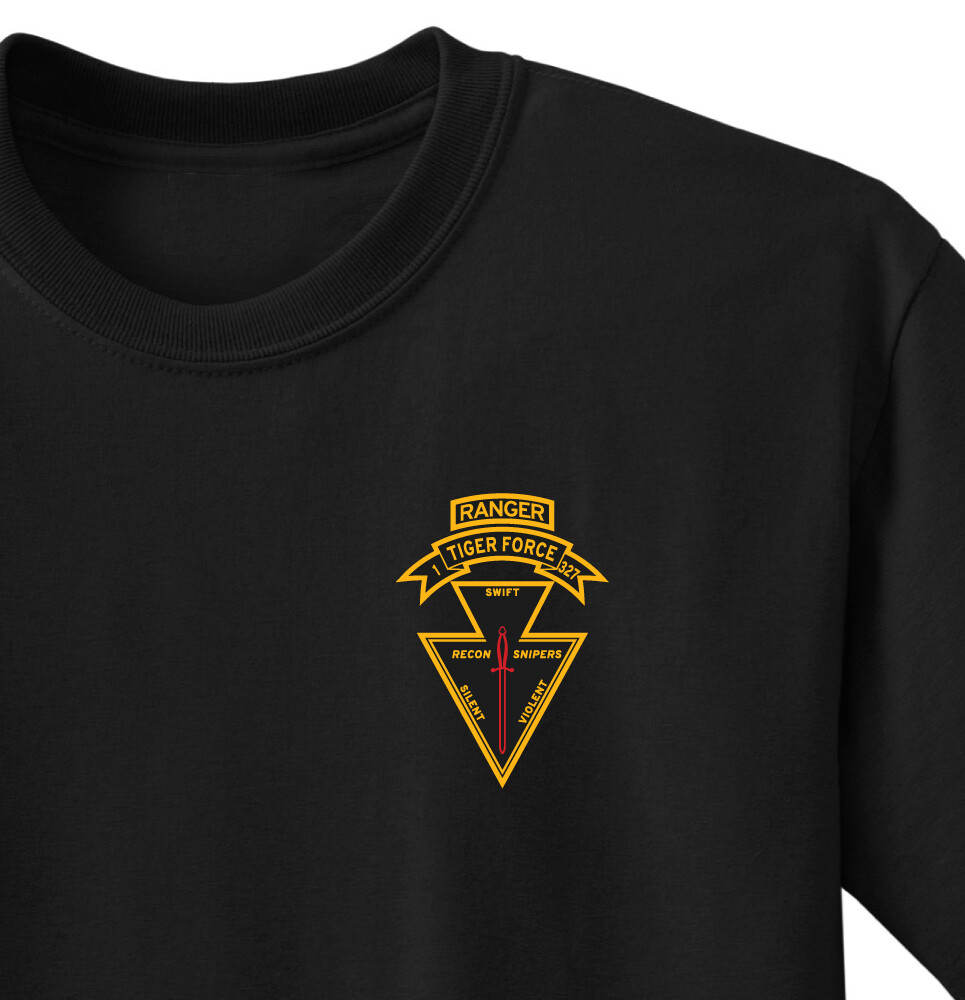1-327th Tiger Force Shirt