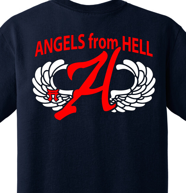 "3-187th A CO ""Angels From Hell"" Shirt"