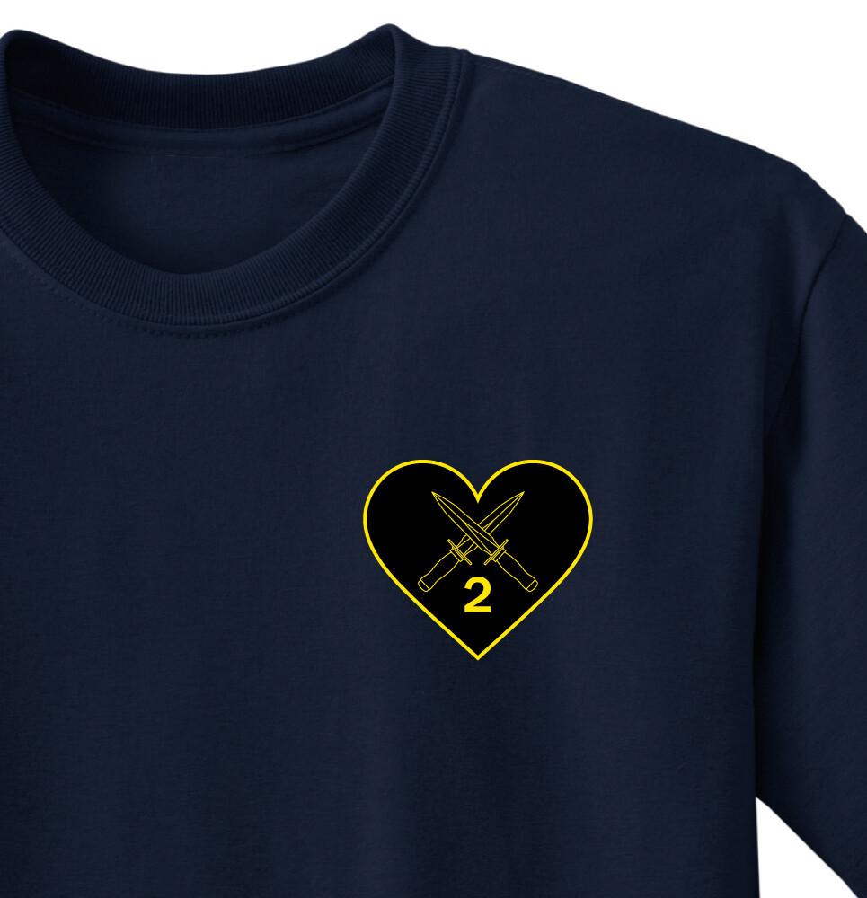 "2-502 B CO ""Renegades"" Shirt"