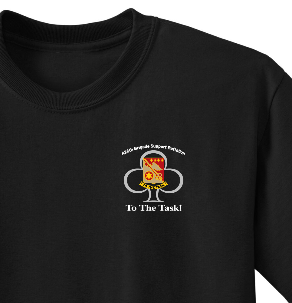 "426th ""To The Task"" Battalion Shirt"
