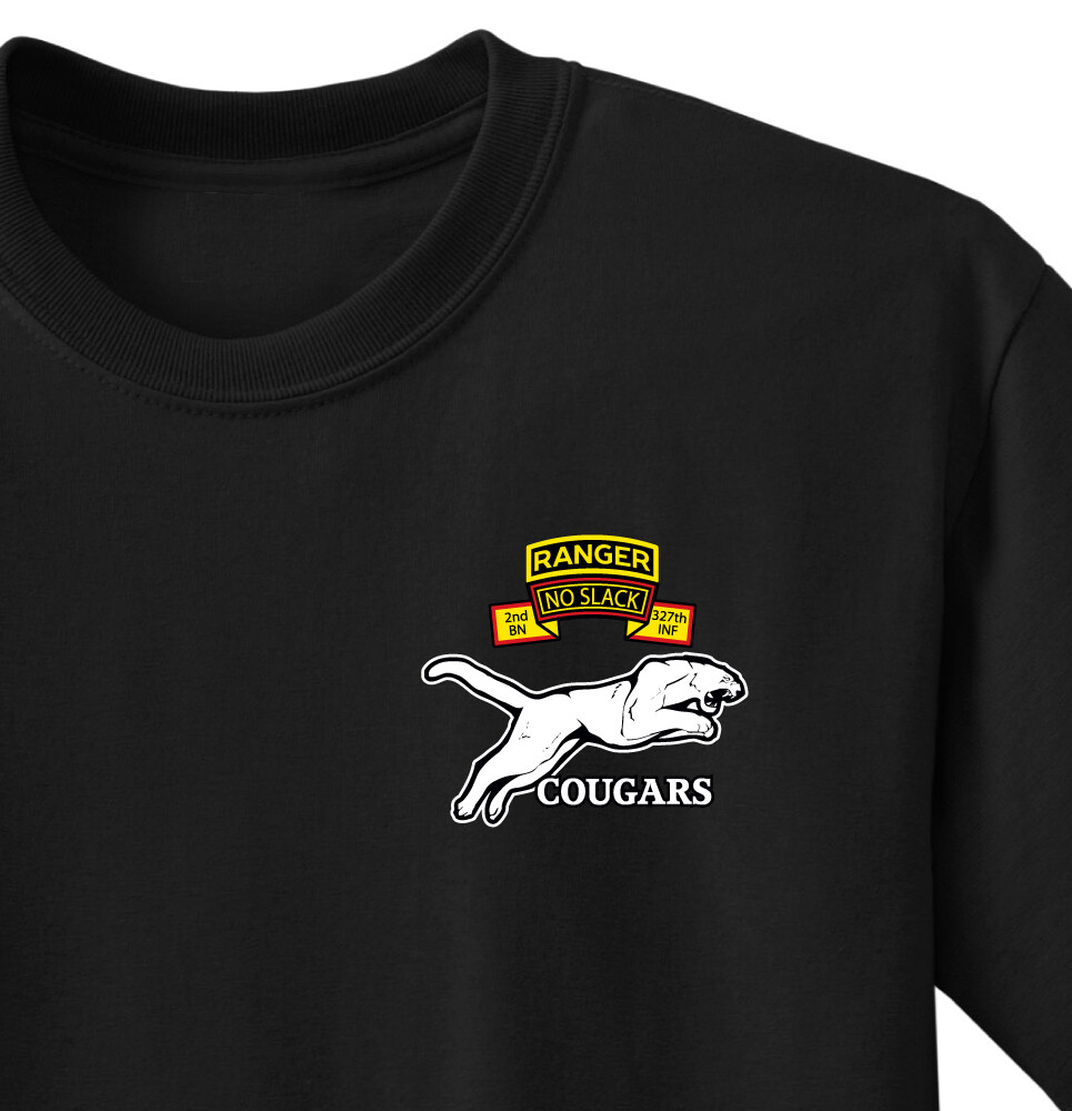 "2-327th C CO ""Cougars"" Shirt"