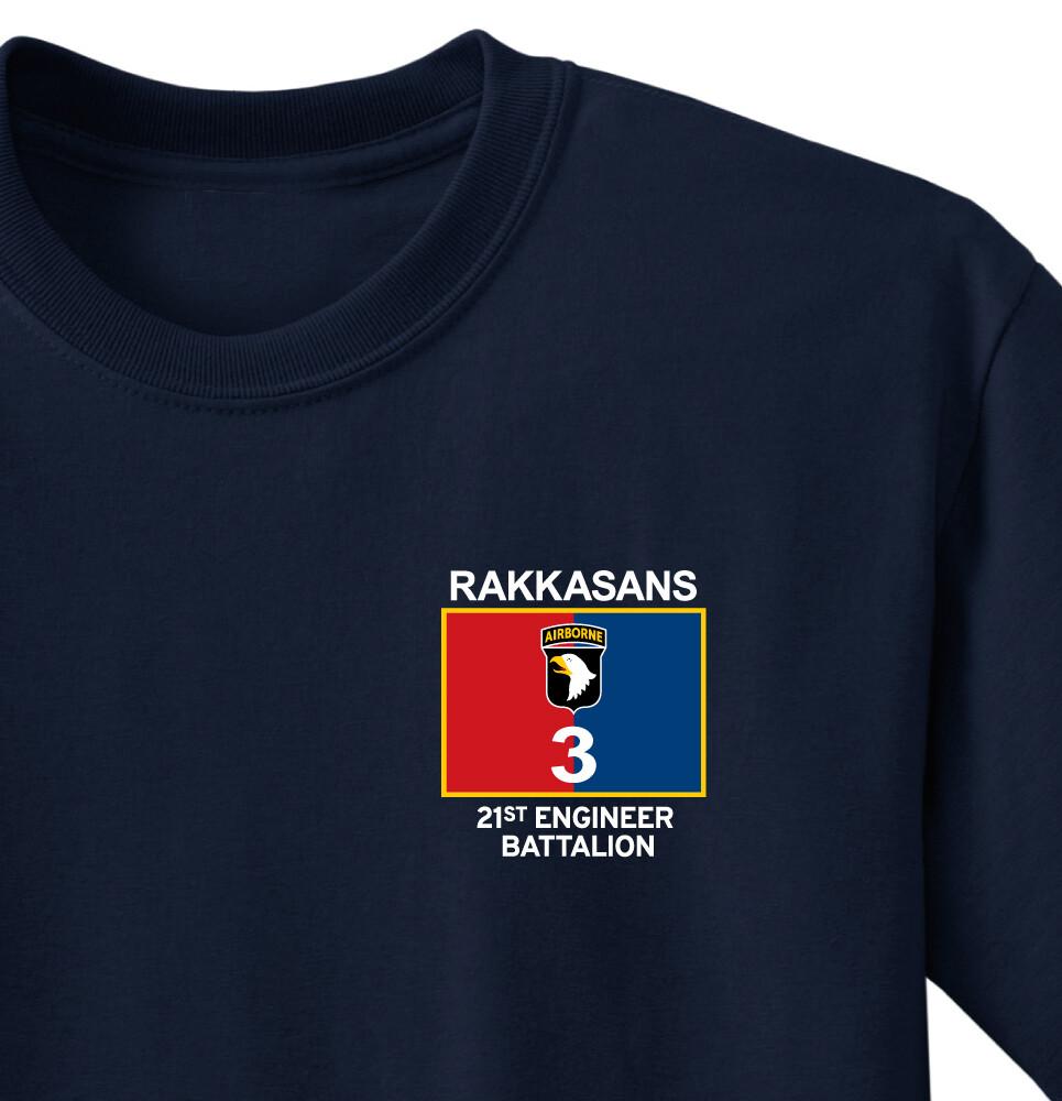 """21 BEB """"Rak Solid Rakkasans"""" Battalion Shirt"""