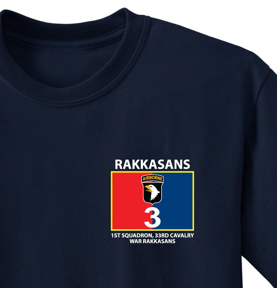 """1-33 CAV """"Men of War"""" Battalion Shirt"""