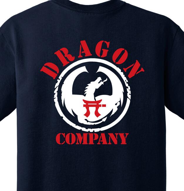 """1-187th D CO """"Dragon"""" Shirt"""