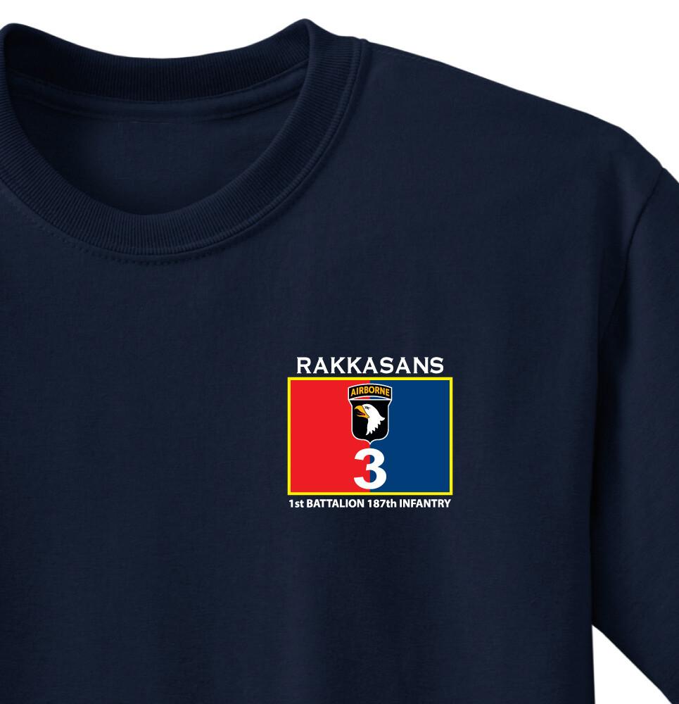 "1-187th INF  ""Leader Rakkasan"" Battalion Shirt"
