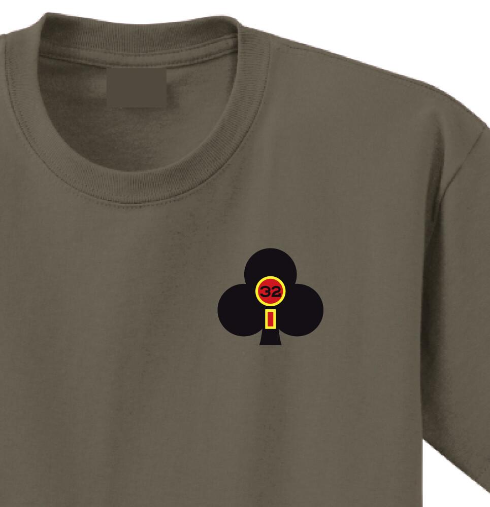 "2-32 FA ""Proud Americans"" Battalion Shirt"