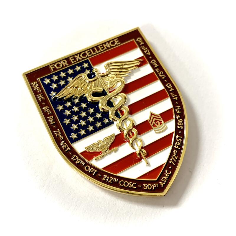 44th Medical Brigade Coin