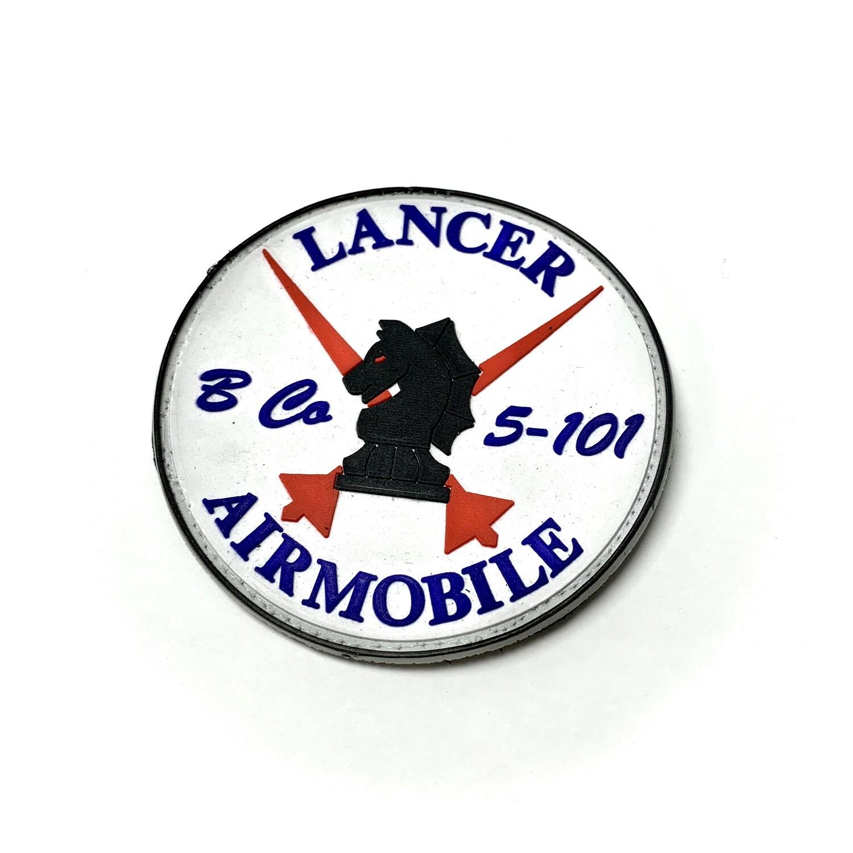 "B Co 5-101 ""Lancer"" Patch (PVC Rubber)"