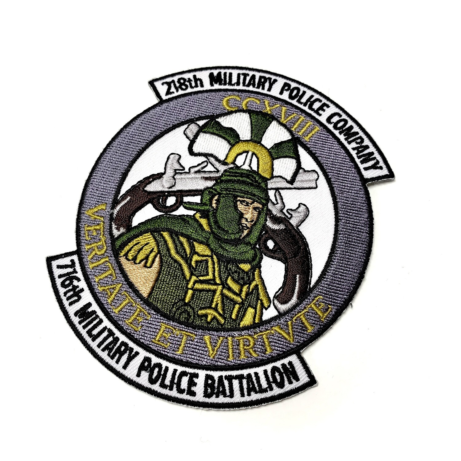 218th Military Police Company Patch