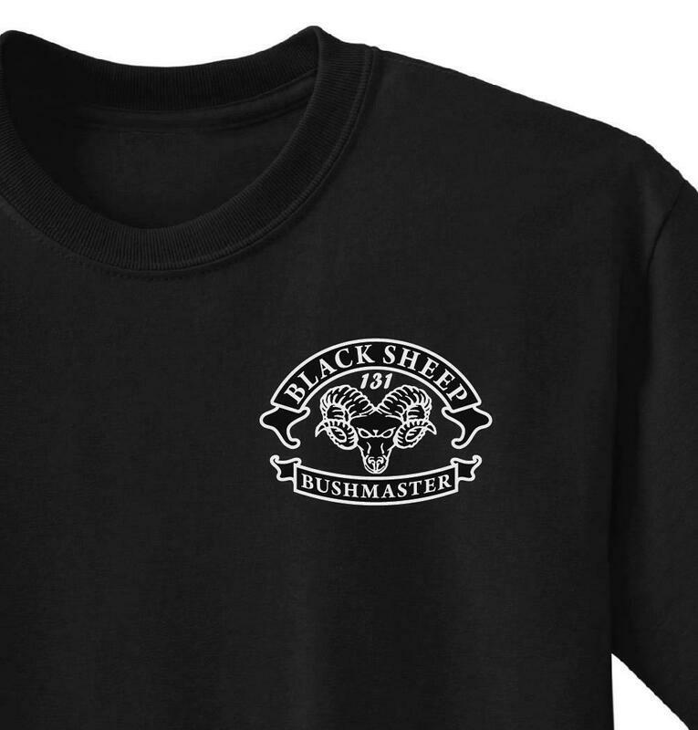 Black Sheep, B Co. 1-327th Shirt