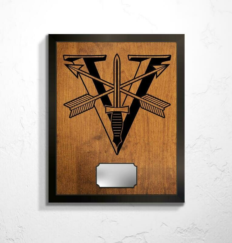 5th SFG(A) - Special Forces Crest Plaque 20.5