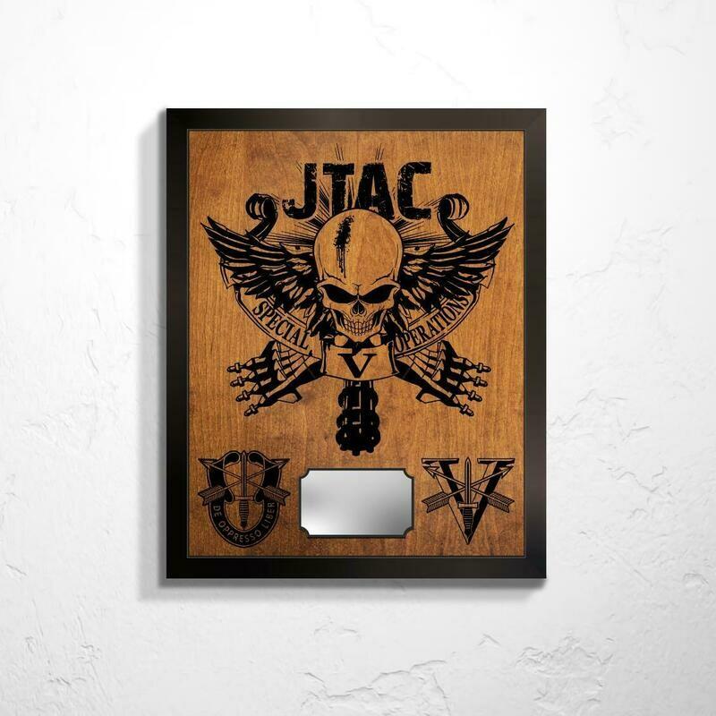 5th SFG(A) JTAC Plaque 20.5