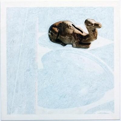 Ève Cadieux, Peyrou, l'isolé, 25,3 x 23,5 cm, 2019.