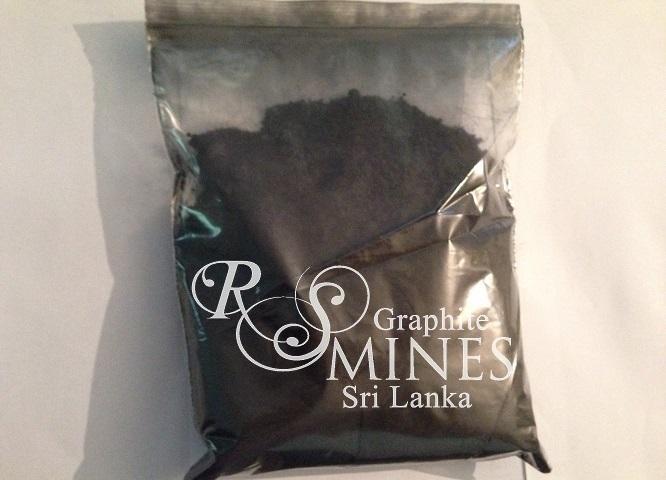 RS007, 99%+ Carbon, Natural Crystalline Vein Graphite, 7 micron aps, 1Kg