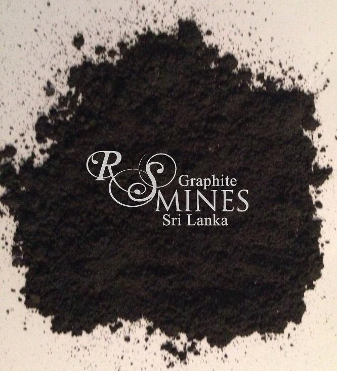 RS007, 99%+ Carbon, Natural Crystalline Vein Graphite, 7 micron aps, 25 gram