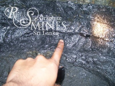 Natural Crystalline Vein Graphite 99%+, chip&lump, 250 grams, Research Sample