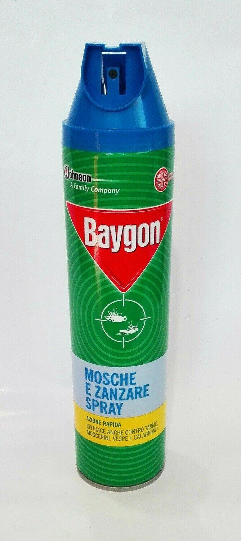 BAYGON MOSCHE E ZANZARE SPRAY - 400 ML.