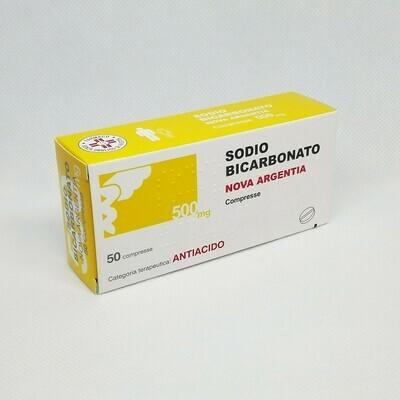 SODIO BICARBONATO 500 MG. COMPRESSE