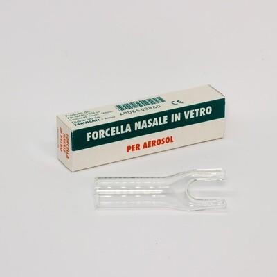 Forcella nasale in vetro