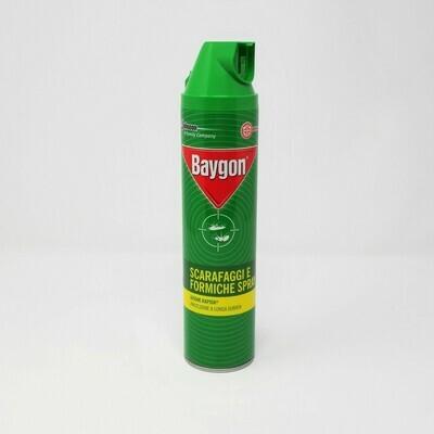 BAYGON SCARAFAGGI E FORMICHE SPRAY- 400 ML.