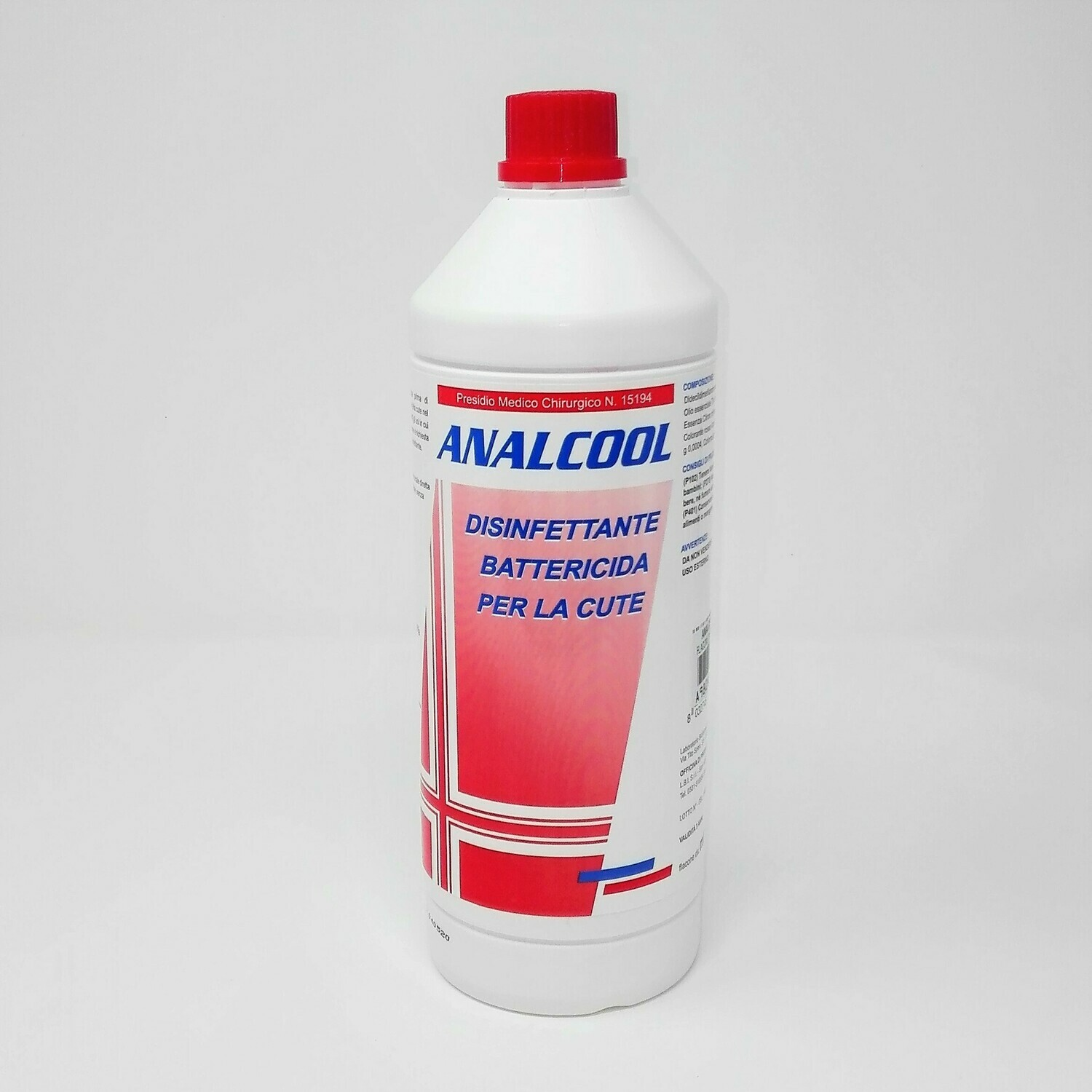 ANALCOOL 1 LT.