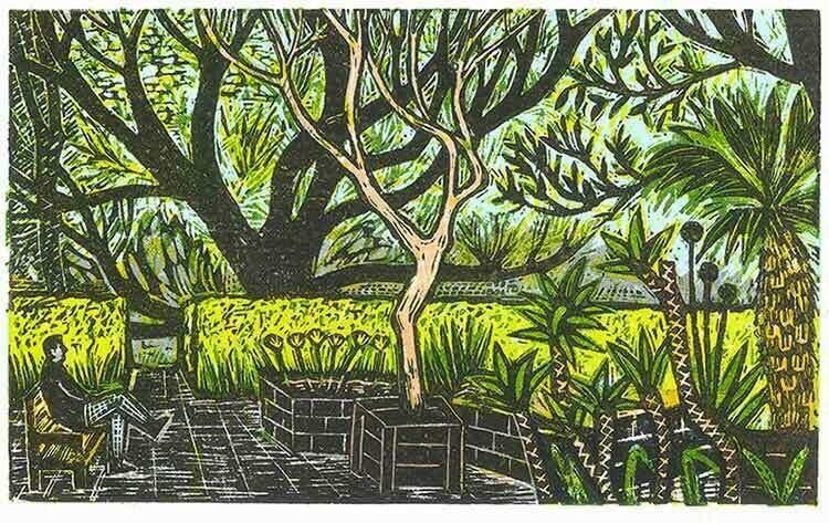 Garden Break (in Green)
